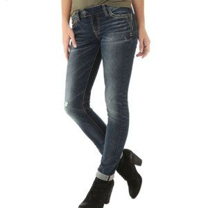 Silver Tuesday Low Skinny Jeans 25